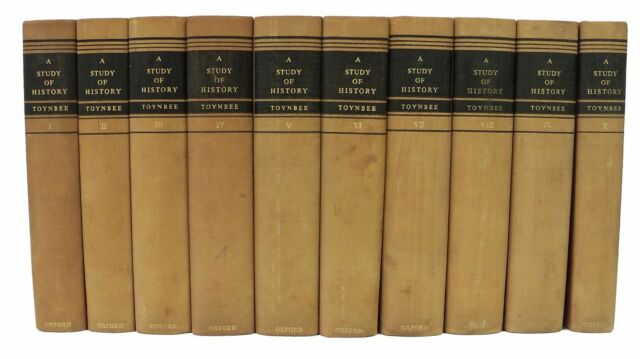 A Study of History by Arnold J. Toynbee - 10 Volume Set - (I - X)
