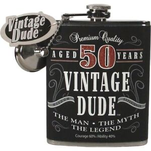 Vintage Dude Aged 50 Years Ceramic Mug Fifty The Man Myth Legend Men/'s Gift