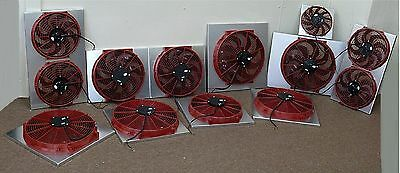 CHEVY ASTRO & SAFARI VAN ELECTRIC TWIN COOLING FAN KIT MORE MPG & HP  COLDER A/C