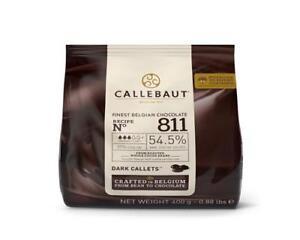 Callebaut Callets 811 feinste belg. Schokolade Kuvertüre 400 g