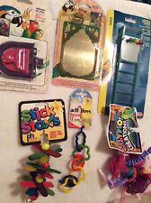 BT20 Lot of 6 Small Bird Interative Toys Penn Plax,JW, Ph Parakeet Cockatiel