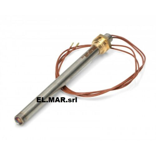 9,9 x 138 mm 300 w resistance for Pellet Stove at rif.007 cartridge