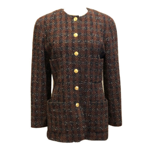 ✨Authentic Vintage CHANEL 1990s Tweed Boucle Wool