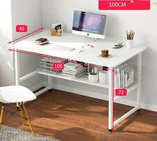 Mesa de ordenador despacho escritorio para estudio oficina rosa blanco cocina
