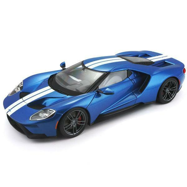 2017 FORD GT blu METALLIC BY MAISTO 1 18 EXCLUSIVE EDITION BRAND NEW IN BOX