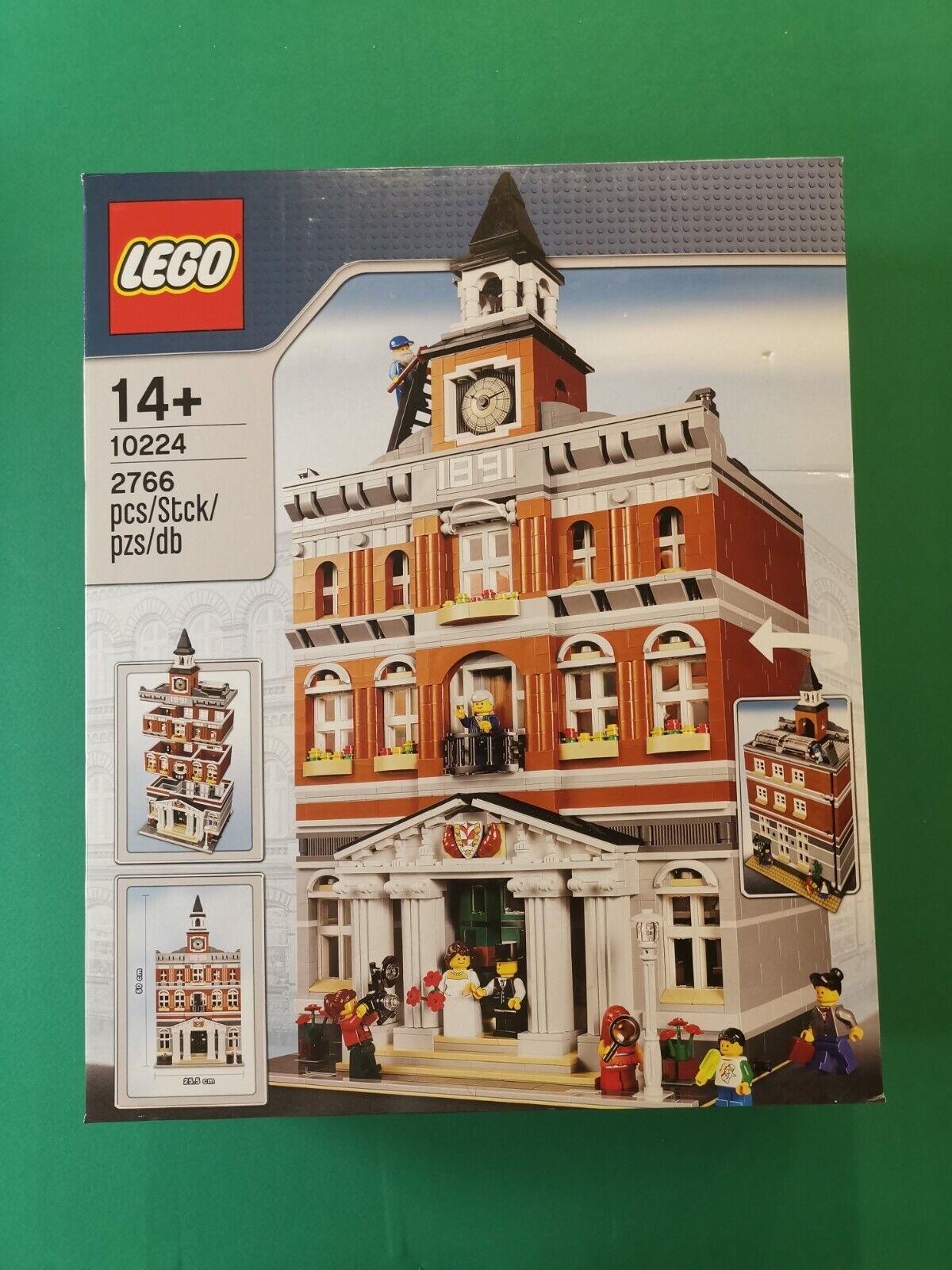 LEGO 10224 Town Hall Nisb Box  2