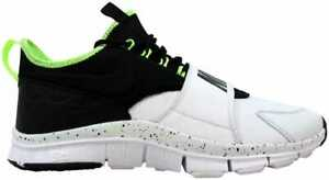 buy cheap b1b05 e0e92 Image is loading Nike-Free-Ace-Leather-White-Black-Ghost-Green-