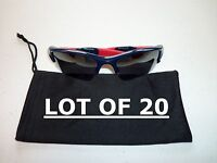 Lot Of 20 Dust Bags For Glasses And Sunglasses - Soft Micro Fiber Cleaning Cloth
