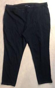 959e189fefb Bandolino Selene 3X Knit To Fit Skinny Jeans Medium Wash Plus Size ...