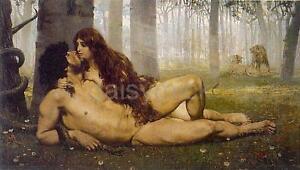 and nude Adam eve