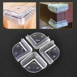 4Pcs-Mesa-Esquina-Angulo-Nino-Bebe-Borde-Protector-cubierta-de-proteccion-de-silicona-seguro