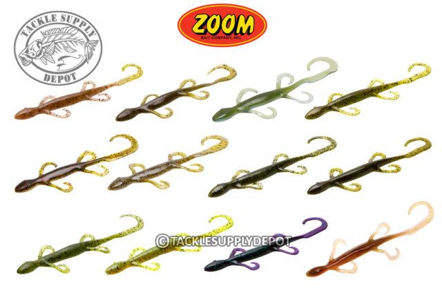 """Zoom 033005 Magnum Lizard 8/"""" 9pk Junebug for sale online"""