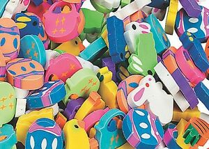Pack of 24 - Mini Easter Erasers