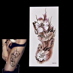 2X-Fashion-Removable-Waterproof-Temporary-Plum-Blossom-Body-Tattoo-Sticker-JE