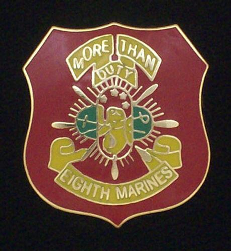 Marine Corps 8th Marine Regiment Pin #GE15796 U S