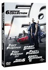 FAST FURIOUS Complete DVD Collection Box Set All Movies 1 2 3 4 5 6 Tokyo Drift