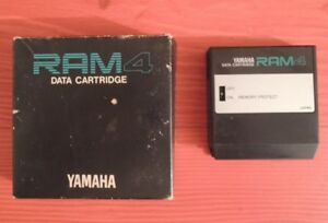 Ram-Card-YAMAHA-RAM4-DX-7S-TX-802-DATA-DX7-2-FD-Black-edition-MEMORY-CARTRIDGE