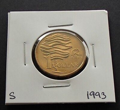 Uninterrupted Milling 1993 Proof $1 Landcare Silver Coin Fair Issue Australia