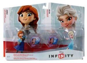Anna And Elsa Disney Infinity Toy Box Set Frozen New Sealed