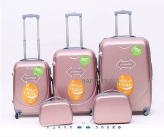 Brand New Travel Luggage Bags Trolley Suitcases 3/4/5 piece sets