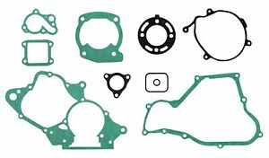 Honda Full Engine Gasket Set Kit CR85 R3 R4 03 to 04 RB 3 4 5 Big Wheel 03 to 05