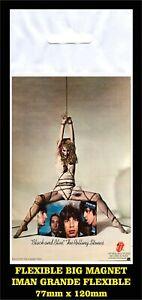 Rolling-Stones-Black-and-Blue-flyer-advertising-iman-Premium-BIG-magnet