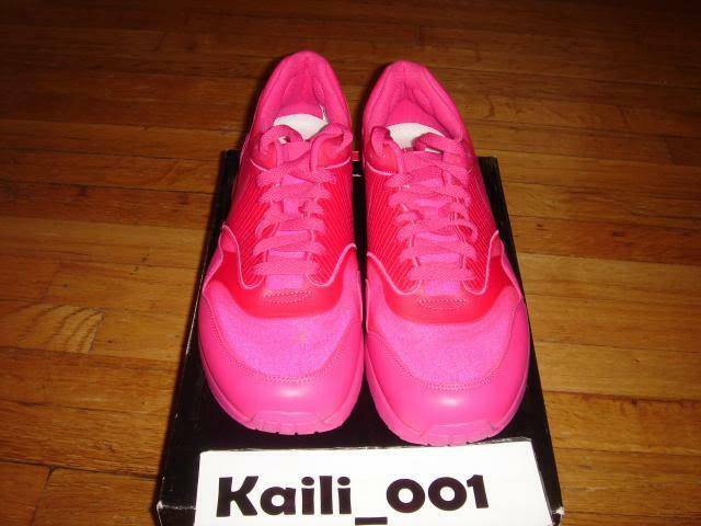 Nike Air Maxim 1+ Size 11.5 PINK PINK PINK Attack pack max 90 Red Pink Powerwall B 33494a