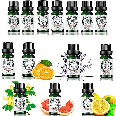 Essential Oil Set 14 Pack 100% Pure Natural Therapeutic Grade Oils Lot 10 ml BS+