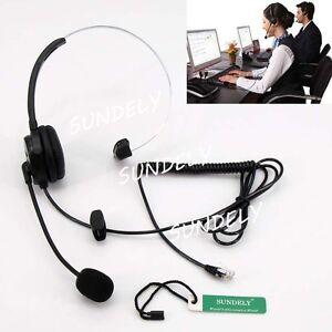 FAST T400 Headset For Shoretel IP100 IP212K IP230 IP265 IP530 IP560 IP560G IP565