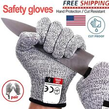 Anti Cut Metal Mesh Butcher Glove Cut Proof Stab Resistant Safety Work Gloves M