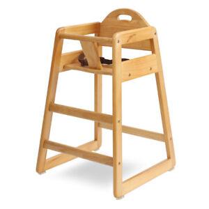 La Baby Solid Wood High Chair Hc 004 N Ebay