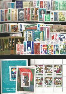 DDR-1973-Postfrisch-kompletter-Jahrgang-mit-allen-Einzelmarken