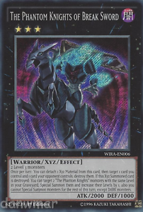 Secret Rare The Phantom Knights of Break Sword BLLR Mint Card! YuGiOh
