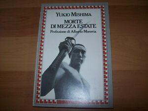 YUKIO-MISHIMA-MORTE-DI-MEZZA-ESTATE-PREF-ALBERTO-MORAVIA-LONGANESI-1983-1aEDIZ