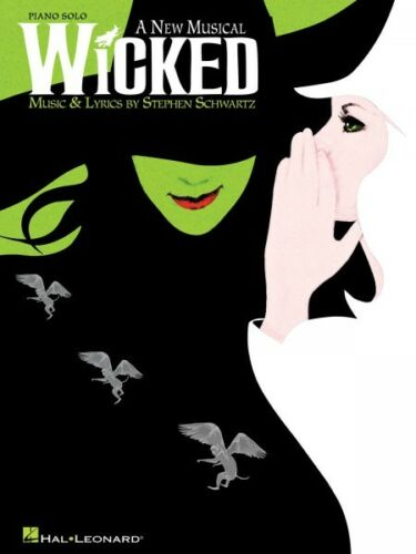 Wicked Sheet Music Piano Solo Piano Solo Selections Book NEW 000313398