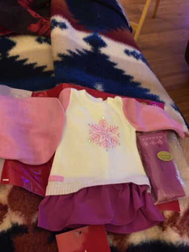 American Girl Snow Good to See You Outfit BNIP Adorable Gift For Christmas !!!