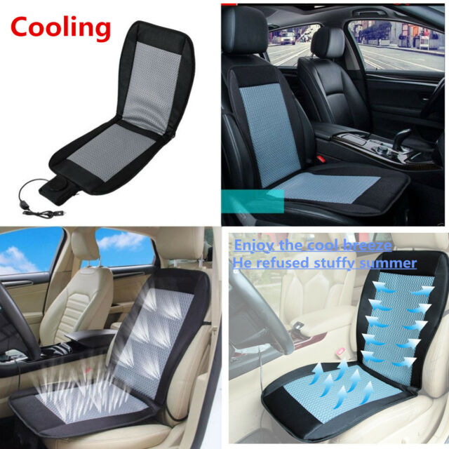 12v Car Seat Cushion Cover Cooling Air, Best Car Seat Cooling Pad
