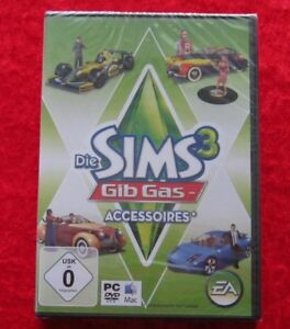 Die-Sims-3-Gib-Gas-Accessoires-original-PC-Spiel-Neu-deutsche-Version