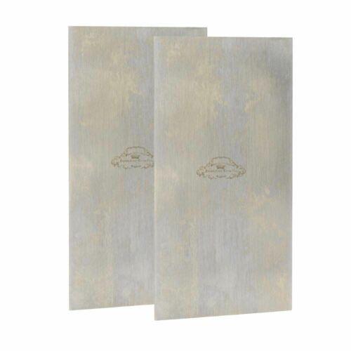 Flat Crown Tools 375 2-1//2 Inch x 5 Inch Cabinet Scraper 2PK