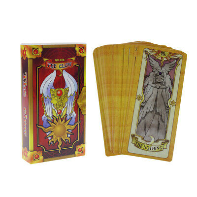 Card Captor Sakura The Clow Cards Set Cosplay Prop Party Supplies Anime Gifts
