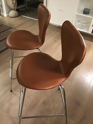 Stol Køb brugt Fritz Hansen 7'er stol med polstret sæde