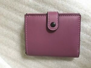 5b4bd0170fd9 Image is loading NWT-Coach-1941-Small-Trifold-Wallet-Glovetanned-Leather-