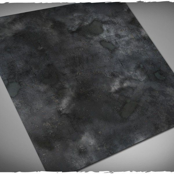 Deep Cut Studio Wargames Terrain Mat Gotham 4x4 Batman Playmat Play Mat