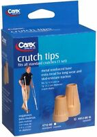 Carex Crutch Tips X-large A952-00 2 Each (pack Of 4) on sale