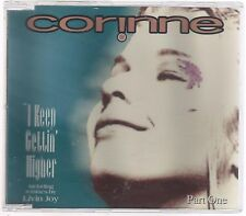 CORINNE I KEEP GETTIN' HIGHER PATR ONE ITALO DISCO CD SINGOLO SINGLE cds