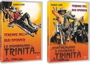 Dvd-LO-CHIAMAVANO-TRINITA-039-CONTINUAVANO-A-CHIAMARLO-TRINITA-039-2-Film-Dvd-NEW