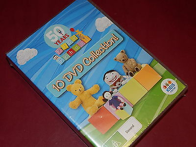 50 YEARS PLAY SCHOOL 10 DVD COLLECTION  -  BRAND NEW