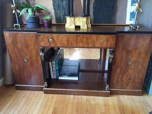 Antique American Art Deco Buffet Sideboard By Irwin Circa 1930 40 Ebay