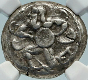 MALLOS-CILICIA-Authentic-Ancient-440BC-Silver-Greek-Stater-Coin-SWAN-NGC-i84250