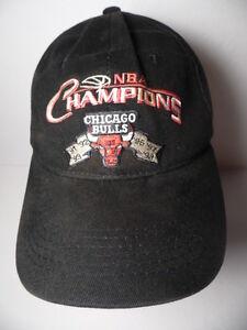 d6f4c03949d9 VINTAGE 1998 CHICAGO BULLS SIX TIME NBA BASKETBALL CHAMPIONS HAT ...